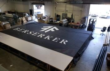 Printed Backdrop Broadway Berserker