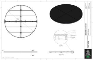Stage Deck - 10ft Round Deck