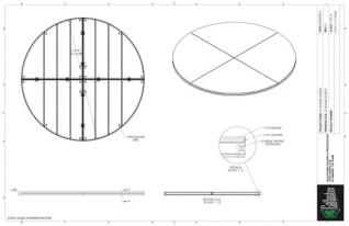 Stage Deck - 12ft round deck