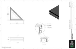 Stage Deck - 1ft x 1ft TRI GDeck