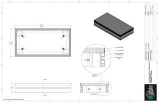Stage Deck - 1ft x 2ft TRI GDeck