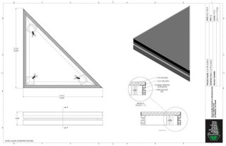 Stage Deck - 2ft x 2ft TRI GDECK