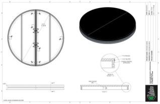 Stage Deck - 4ft Round GDECK