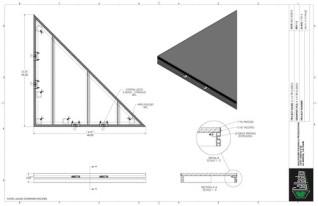 Stage Deck - 4ft x 4ft TRI GDECK