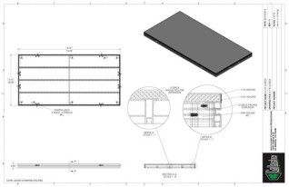 Stage Deck - 4ft x 8ft GDECK