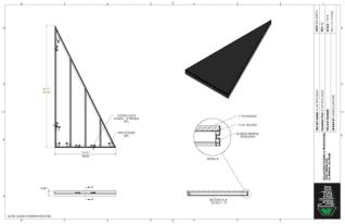 Stage Deck - 4ft x 8ft TRI GDECK