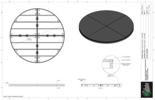 Stage Deck - 8ft Round GDECK