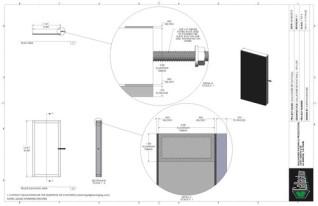 Set Flat - 1ft x 2ft Set Flat Wall