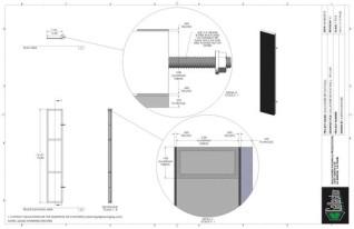 Set Flat - 1ft x 6ft Set Flat Wall