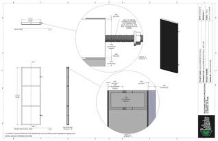Set Flat - 2ft x 6ft Set Flat Wall