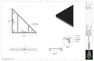 Stage Deck - 3ft x 3ft Tri Deck Platform