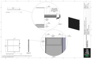 Set Flat - 3ft x 3ft Set Flat Wall