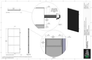 Set Flat - 3ft x 6ft Set Flat Wall