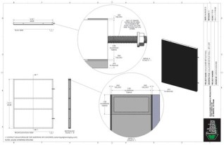 Set Flat - 4ft x 5ft Set Flat Wall