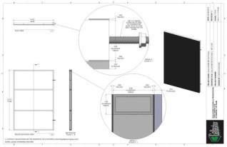 Set Flat - 4ft x 6ft Set Flat Wall