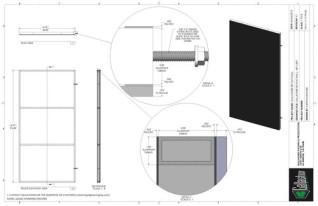 Set Flat - 4ft x 8 ft Set Flat Wall