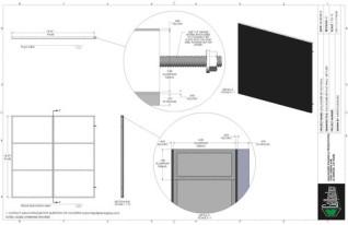 Set Flat - 8ft x 8ft Set Flat Wall