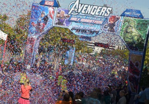 Truss Structure - Avengers Disney Half Marathon