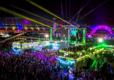 Truss Structure - EDC Las Vegas 7 Up