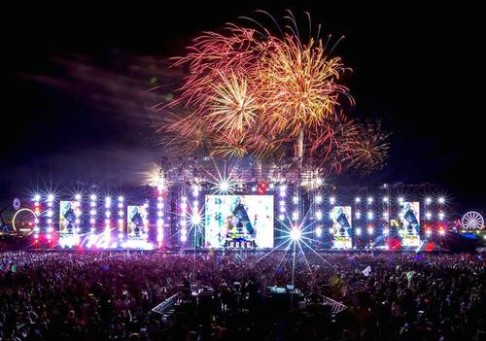 Truss Structure - EDC Electric Daisy Carnival