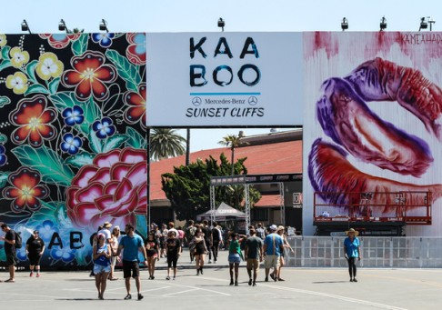 Truss Structure - Kaaboo Festival Del Mar