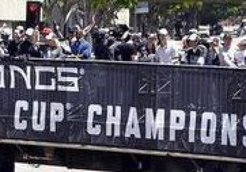 Custom Set - Los Angeles Kings Stanley Cup Parade 2014