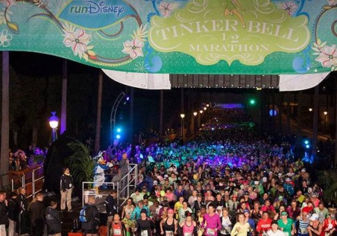 Truss Structure - Disney Tinker Bell Half Marathon provided by Gallagher Staging