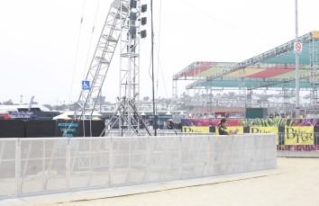 Aluminum Concert Barricade