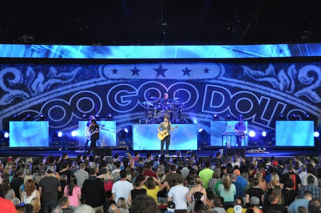 Digital Print Backdrop - Goo Goo Dolls