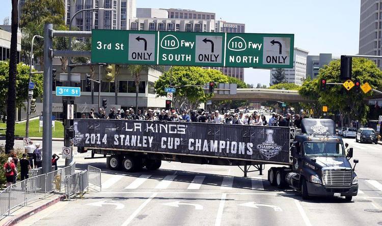 Custom Set - Los Angeles Kings Stanley Cup Parade 2014