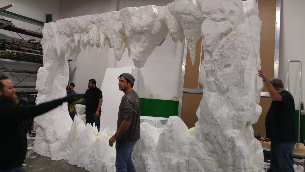 Hand Carved Foam Hoth Cave